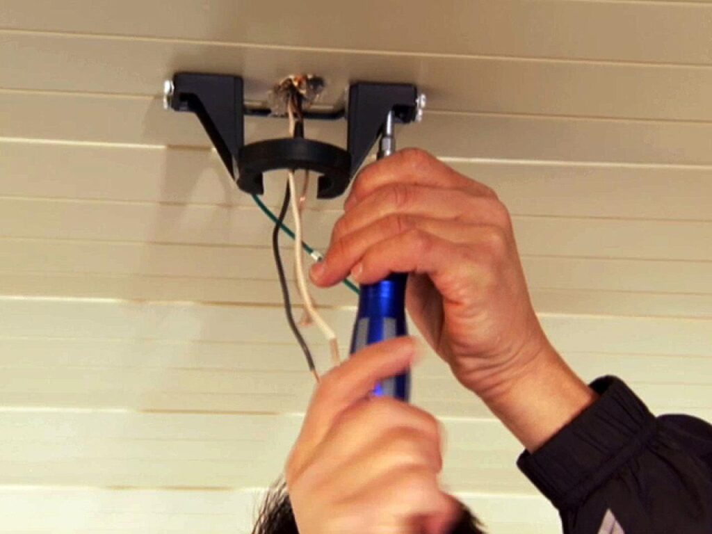 How to Hang an Outdoor Ceiling Fan | how-tos | DIY