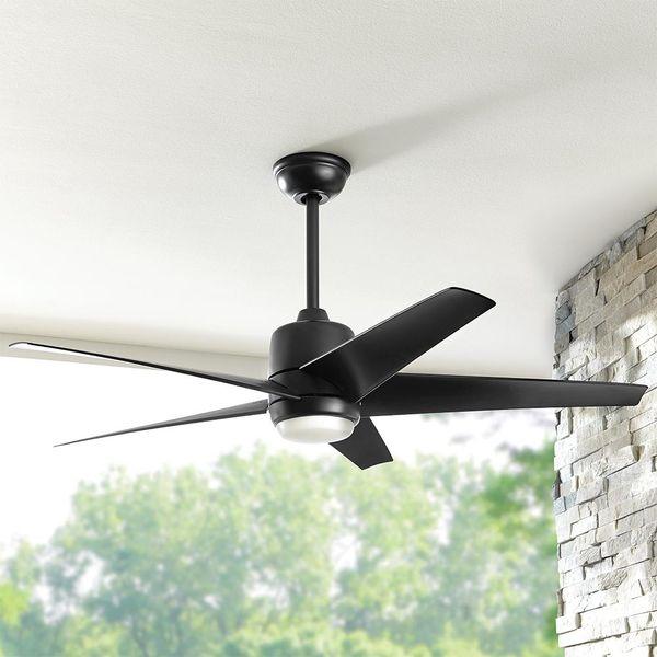Indoor and outdoor ceiling fans