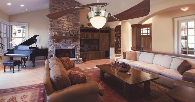 difference between indoor and outdoor ceiling fans?