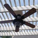 What is the correct way for outdoor ceiling fan installation?