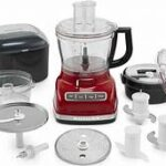 How to use kitchenaid food processor attachments?