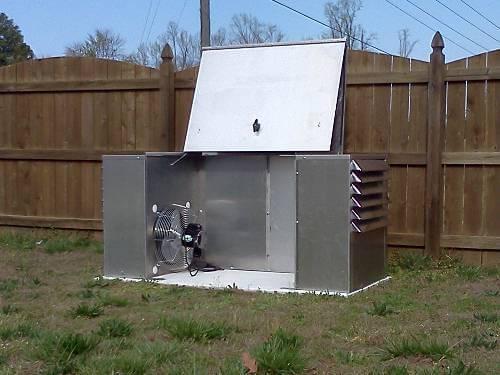 Aluminum Generator Box for Intact Storage & Security