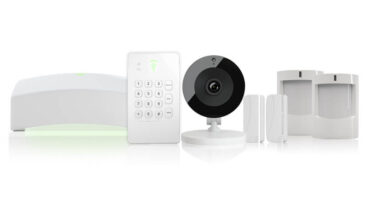 front point self monitoring home security